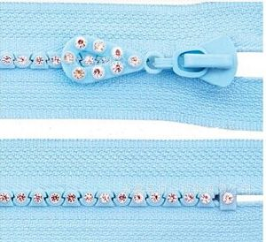 Diamond Zipper for Lady Fancy Clothes