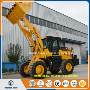 Zl20 Quick Hitch 2ton Front China Mini Wheel Loader with Ce pictures & photos
