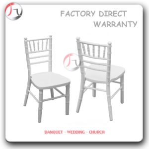 White Wood Stackable Coloured Chiavari Chairs (AT-85) pictures & photos