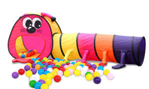 Larva Play Tunnel for Kids pictures & photos