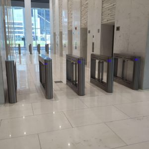 Time Access Control European Model Speed Gate Turnstile Th-Sg307 pictures & photos