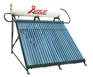 Compact Pressure Heat Pipe Solar Water Heaters
