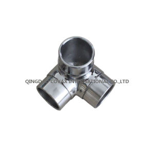 Handrail 3-Way Corner Connector Stainless Steel Tee pictures & photos