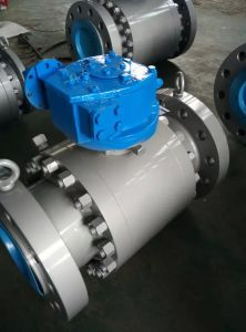 API6d Forged Steel 3PCS Fixed Ball Valve pictures & photos