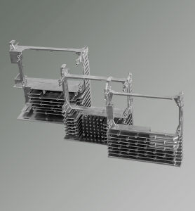 Servo Driver Cooling Radiator Made of Aluminum Casting Foundry Technology pictures & photos