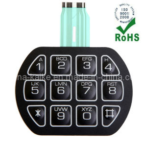 OEM Membrane Keypad Switch with Connector pictures & photos