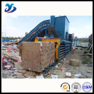 Button Operation Epm-250 Series Manual Belting Baler pictures & photos