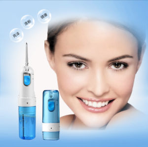 Water Flosser Cordless Portable Dental Oral Irrigator Rechargeable Waterproof Esg10466 pictures & photos