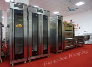 Single Door Bread Fermentation 14 Tray Electric Proofer for Baking pictures & photos