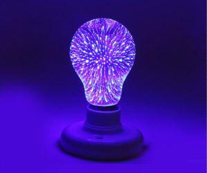 Creative Unique LED Filament 3D Fireworks Light pictures & photos
