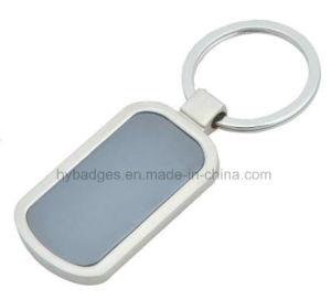 Oval Shape Zinc Alloy Keychain Key Ring (GZHY-KA-019) pictures & photos