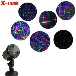 RGB Eight Flower Motion Light with Remote Control pictures & photos