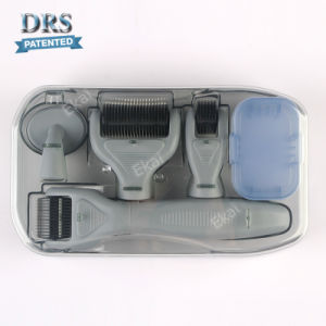 2018 Latest One Grey 6 in 1 Derma Roller Kit Microneedle Therapy for Skin Care pictures & photos