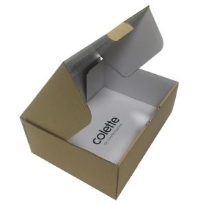 Kraft Corrugated Carton Bins for Packing Fruits pictures & photos