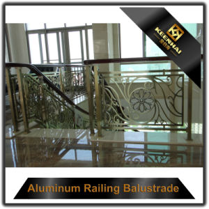 Durable Stainless Steel Handrail Clear Glass Balcony Balustrade pictures & photos