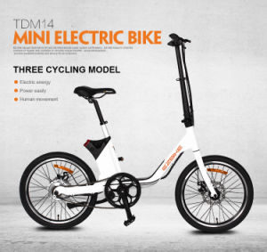 Cute Pocket Electric Bicycle with City Type Saddle pictures & photos