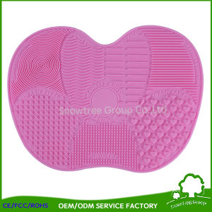 silicone makeup brush cleaner. silicone makeup brush cleaner pad for cosmetics small size
