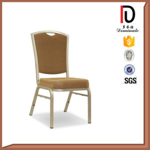 Square Back Gold Aluminium Chairs for Banquet Hall pictures & photos