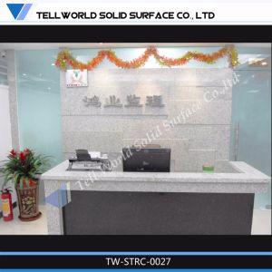 Beauty Salon Acrylic Commercial Reception Desk Design for Hotel pictures & photos