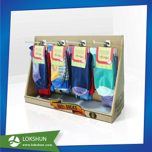 Cardboard Socks PDQ Display Case pictures & photos