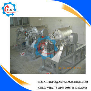 Heat by Gas Corn Wheat Peanut Puffing Machine pictures & photos