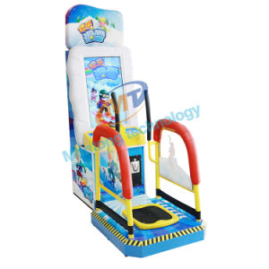 Attrctive Kids Skiing Kids Game Machines Coin Operation Ticket out Game Machines pictures & photos