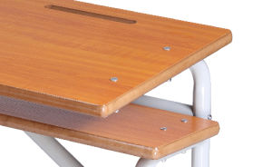 Modern Classroom Furniture Double Seats for College and High School pictures & photos