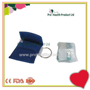 CPR Mask In Key Ring Woven Bag First Aid CPR pictures & photos