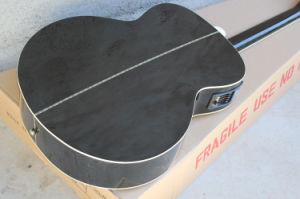 Hanhai Music/43′′ Black Acoustic Guitar with Pickup (SJ-200) pictures & photos