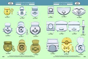 Custom Made Twist Lock Turn Lock Metal Key Lock Press Lock pictures & photos