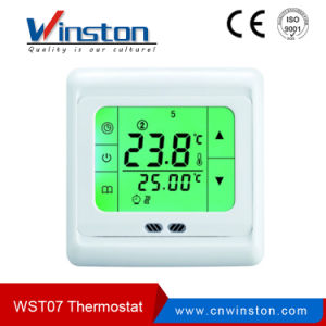 Floor Heating Water Heating System LCD Display Programmable Room Thermostat pictures & photos