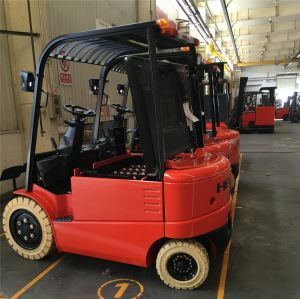 Electric Forklift 3 Ton with 80V Battery with Charger pictures & photos