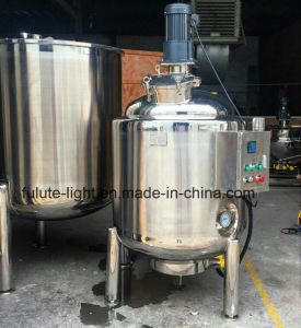 1000 Liter Steam Heating Jacketed Industrial Mixing Kettle pictures & photos