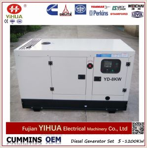 Yangdong 8kw/10kVA Electric Silent Canopy Diesel Power Generator Set pictures & photos