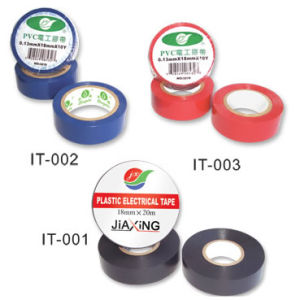 PVC Electrical Insulation Adhesive Tape on Thickness 130mic pictures & photos