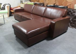 Living Room Corner Sofa, Hotel Sofa, Genuine Leather Corner Sofa Yh-235 pictures & photos