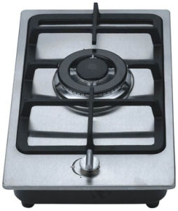Gas Hob Single Burner Stainless Steel Panel (GH-S301E) pictures & photos