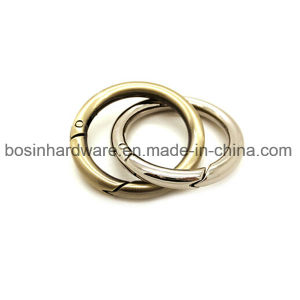 20mm Metal Spring Round Ring for Tassel Keychains pictures & photos