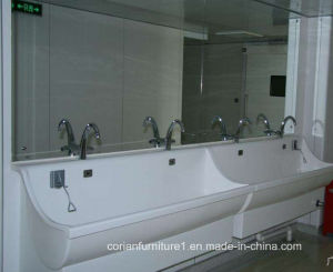 Under Counter Wash Basin with Cabinet Sink Faucet Marble Sink pictures & photos