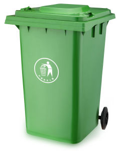 360 Liter Garbage Bin Outdoor Plastic Waste Bin (plastic dustbin) with En840 pictures & photos