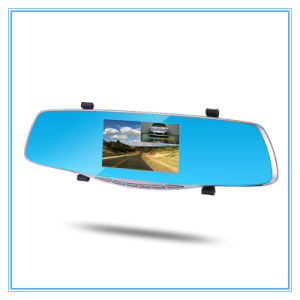 Rearview Mirror Two Camera Lens Full HD 1080P Dashcam Car DVR pictures & photos
