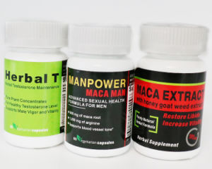 2017 New Anti-Fatigue Energy Maca Root Extract Capsule pictures & photos