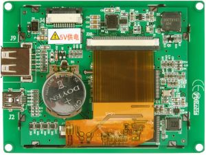 3.5′′ 320*240 TFT LCD Module with Resistive Touch Screen pictures & photos