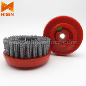 "4""-12"" Silicon Carbide Round Brush with Epoxy Resin pictures & photos"