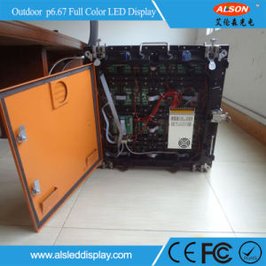 Outdoor Waterproof HD Rental P6.67 Full Color LED Screen Board pictures & photos