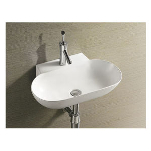 Sanitary Ware Ceramic Wall Hung Sink Wash Hand Basin pictures & photos