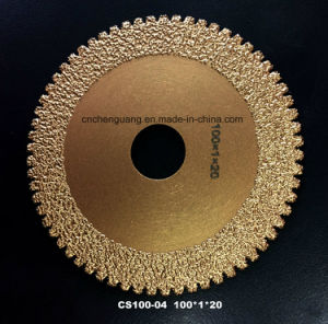 Vacuum Brazed Diamond Cutting Saw Blade for Tile Ceramics Marble pictures & photos