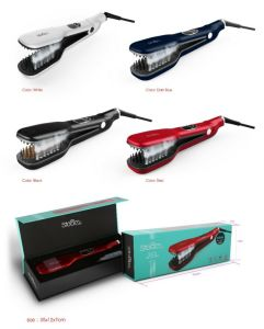 Steam Comb Hair Straightener Brush pictures & photos