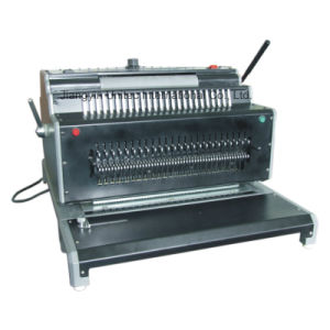 Heavy Duty Electric Combination Binding Machine for HP-6988 pictures & photos