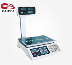 Platform Digital Weighing Price Scale for Fruit or Vegetables pictures & photos